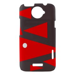 Decorative Abstraction HTC One X Hardshell Case