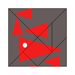 Decorative Abstraction Acrylic Tangram Puzzle (6  X 6 )
