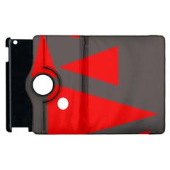 Decorative Abstraction Apple Ipad 2 Flip 360 Case
