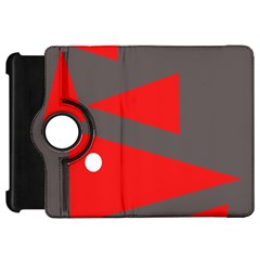 Decorative Abstraction Kindle Fire Hd Flip 360 Case