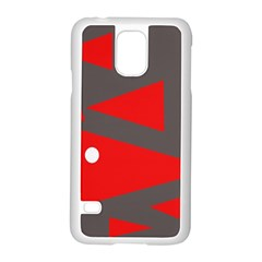 Decorative Abstraction Samsung Galaxy S5 Case (White)