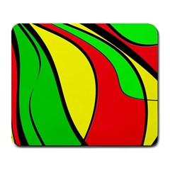 Colors Of Jamaica Large Mousepads