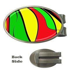 Colors Of Jamaica Money Clips (Oval)