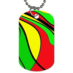 Colors Of Jamaica Dog Tag (One Side)