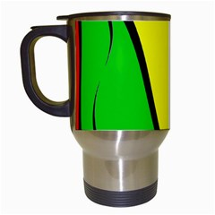 Colors Of Jamaica Travel Mugs (White)