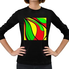 Colors Of Jamaica Women s Long Sleeve Dark T-Shirts