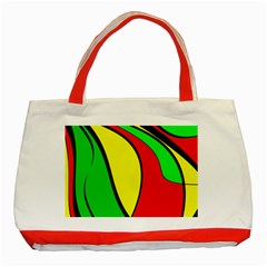 Colors Of Jamaica Classic Tote Bag (Red)