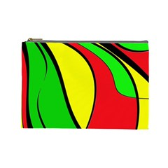 Colors Of Jamaica Cosmetic Bag (Large)