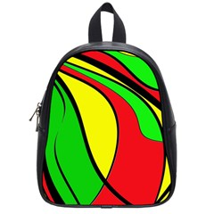Colors Of Jamaica School Bags (Small)