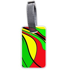 Colors Of Jamaica Luggage Tags (One Side)
