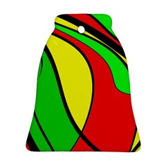 Colors Of Jamaica Ornament (Bell)