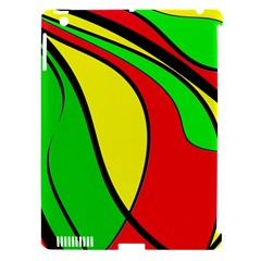Colors Of Jamaica Apple iPad 3/4 Hardshell Case (Compatible with Smart Cover)
