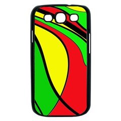 Colors Of Jamaica Samsung Galaxy S III Case (Black)