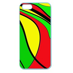 Colors Of Jamaica Apple Seamless iPhone 5 Case (Color)