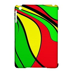 Colors Of Jamaica Apple iPad Mini Hardshell Case (Compatible with Smart Cover)