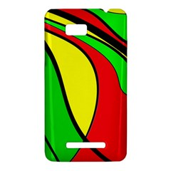 Colors Of Jamaica HTC One SU T528W Hardshell Case