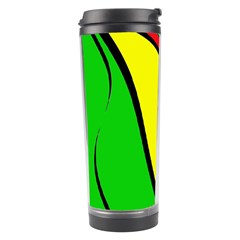 Colors Of Jamaica Travel Tumbler