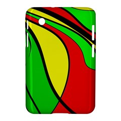 Colors Of Jamaica Samsung Galaxy Tab 2 (7 ) P3100 Hardshell Case