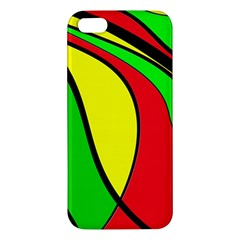 Colors Of Jamaica iPhone 5S/ SE Premium Hardshell Case