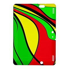 Colors Of Jamaica Kindle Fire HDX 8.9  Hardshell Case