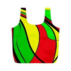 Colors Of Jamaica Full Print Recycle Bags (M)