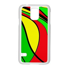 Colors Of Jamaica Samsung Galaxy S5 Case (White)