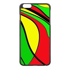 Colors Of Jamaica Apple iPhone 6 Plus/6S Plus Black Enamel Case