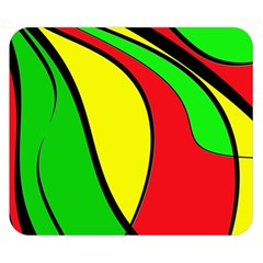 Colors Of Jamaica Double Sided Flano Blanket (Small)