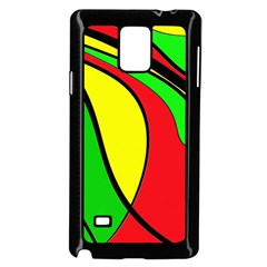 Colors Of Jamaica Samsung Galaxy Note 4 Case (Black)