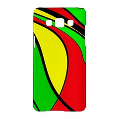 Colors Of Jamaica Samsung Galaxy A5 Hardshell Case