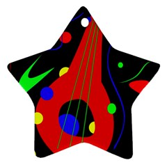 Abstract guitar  Ornament (Star)