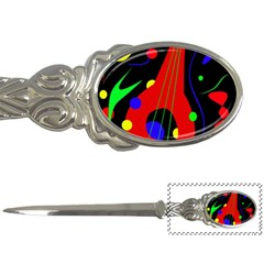 Abstract guitar  Letter Openers