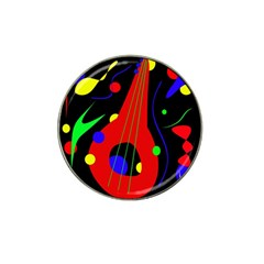 Abstract guitar  Hat Clip Ball Marker (10 pack)