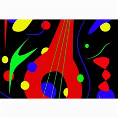 Abstract guitar  Collage Prints