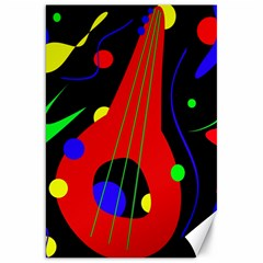 Abstract guitar  Canvas 20  x 30