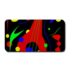 Abstract guitar  Medium Bar Mats