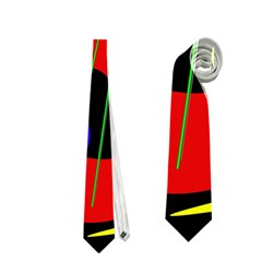 Abstract guitar  Neckties (One Side)