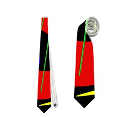Abstract guitar  Neckties (Two Side)
