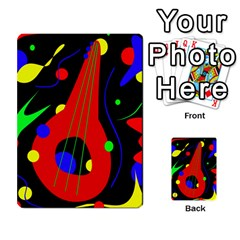 Abstract guitar  Multi-purpose Cards (Rectangle)