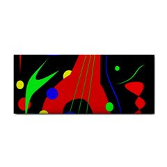 Abstract guitar  Hand Towel