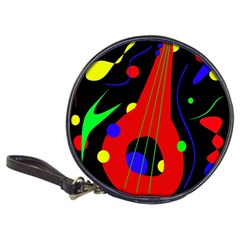 Abstract guitar  Classic 20-CD Wallets