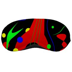Abstract guitar  Sleeping Masks