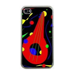 Abstract guitar  Apple iPhone 4 Case (Clear)