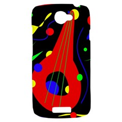 Abstract guitar  HTC One S Hardshell Case