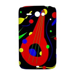 Abstract guitar  HTC ChaCha / HTC Status Hardshell Case