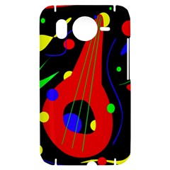 Abstract guitar  HTC Desire HD Hardshell Case