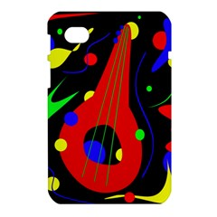 Abstract guitar  Samsung Galaxy Tab 7  P1000 Hardshell Case
