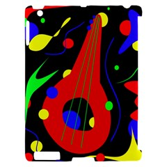 Abstract guitar  Apple iPad 2 Hardshell Case (Compatible with Smart Cover)