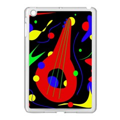 Abstract guitar  Apple iPad Mini Case (White)