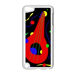 Abstract guitar  Apple iPod Touch 5 Case (White)